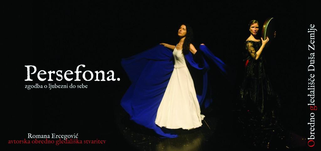 Persefona, vabilo naslovnica